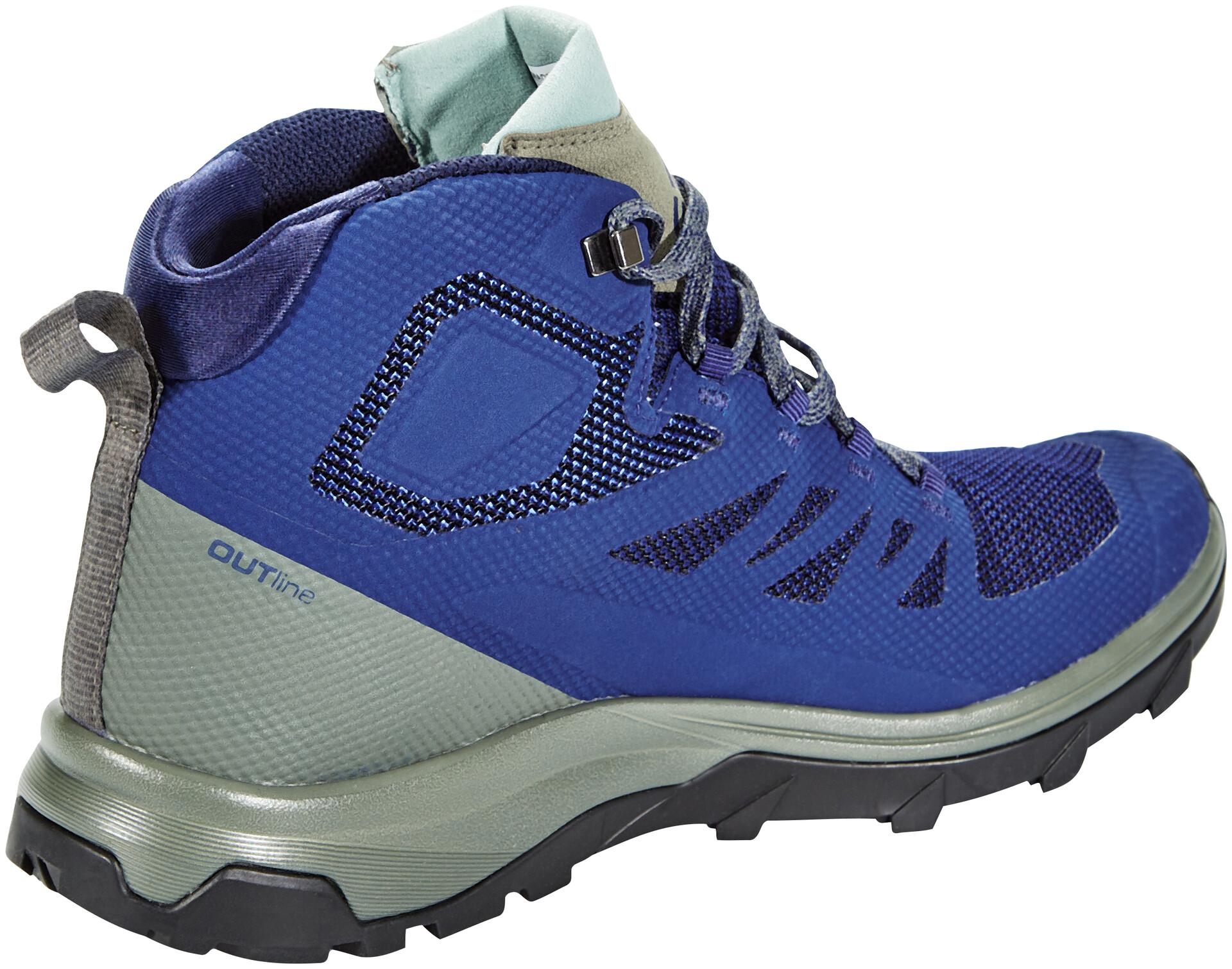 size 40 4f1c0 0cda0 Gtx Wpg64sfp Salomon Outline Homme Chaussures Bleu Mid qZ8PC